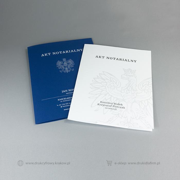teczki na akt notarialny