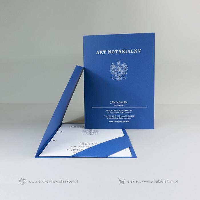 teczka na akt notarialny (z paskiem)